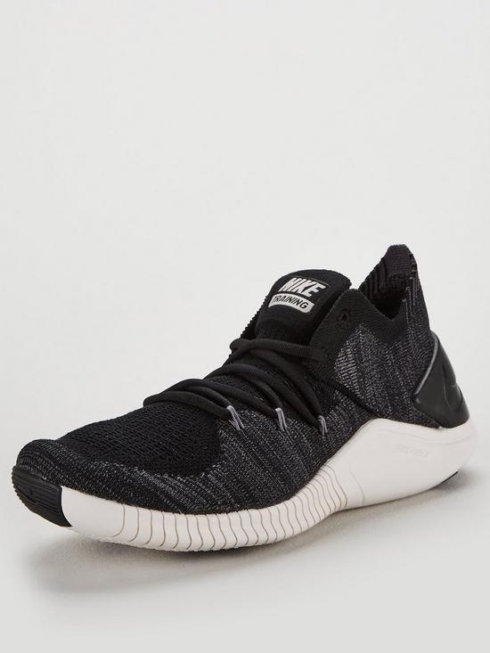 78f456b9ab233 Nike Free TR Flyknit 3 - Black Grey