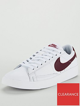 nike-blazer-low-leather-whiteburgundynbsp