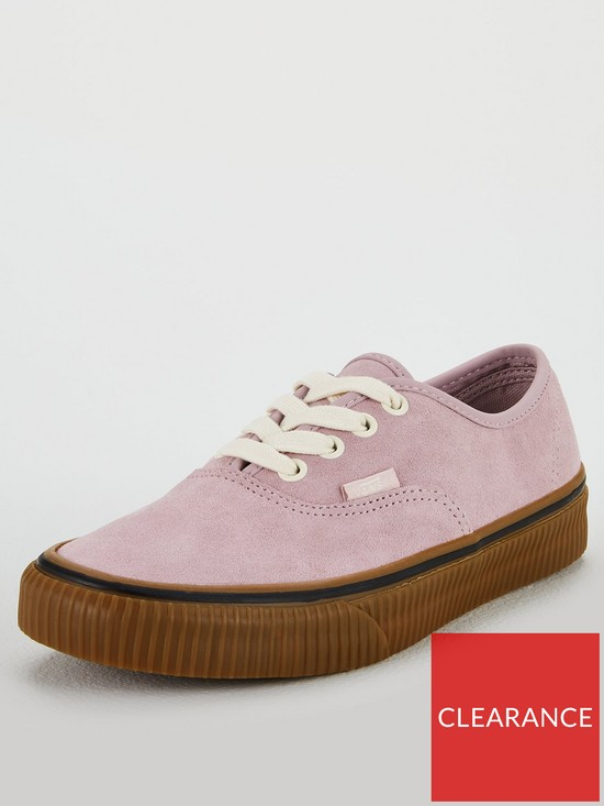 857c2158e739 Vans Suede Authentic - Pink Gum