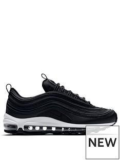 online store a1a34 53496 Nike Air Max 97 - Black White