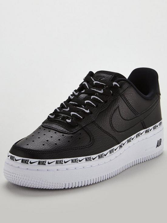 best sneakers c76a9 327af Nike Air Force 1  07 SE Premium - Black   very.co.uk