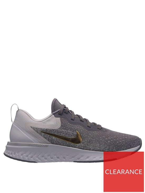 5be62e629f946 Nike Odyssey React Metallic Premium - Grey