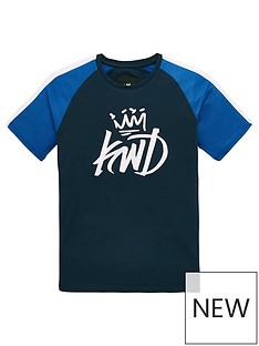 kings-will-dream-grid-contrast-t-shirt