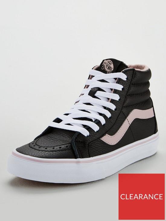 85d017dde97937 Vans Sk8-Hi Reissue - Black Pink
