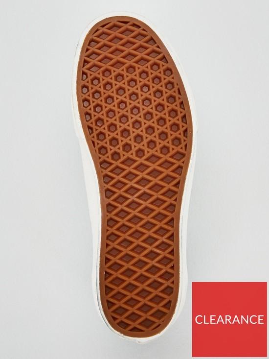 ff195ed3d9bf4e ... Vans Snake Leather Old Skool Platform - White. View larger