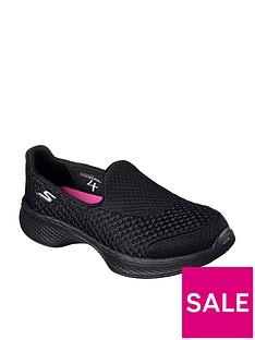 skechers-girls-go-walk-4-slip-on-shoe-black