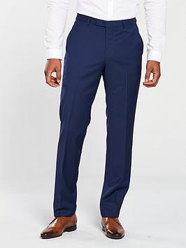 HUGO Hugo By Hugo Boss Regular Fit Suit Trouser, Medium Blue, Size 30, Inside Leg Regular, Men thumbnail