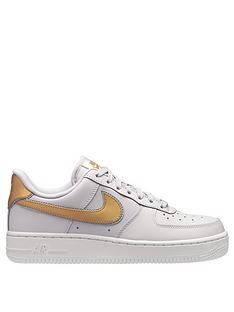 nike-air-force-1-07-metallic-greygoldnbsp