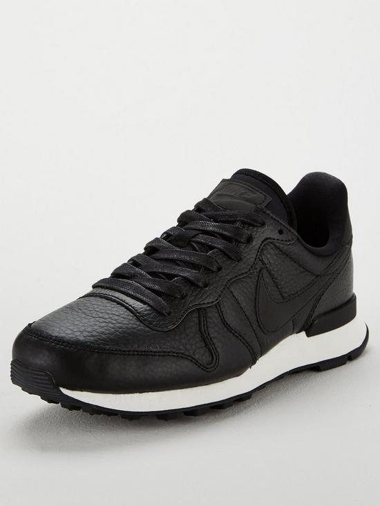 reputable site fa441 14d1a ... low price nike internationalist premium black very a7ec9 8a204