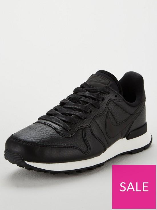 new concept 8f29e 111b1 Nike Internationalist Premium - Black
