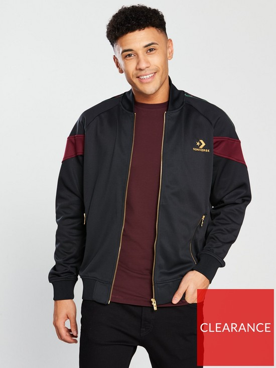 98a1f6a215d7 Converse Luxe Star Chevron Track Jacket