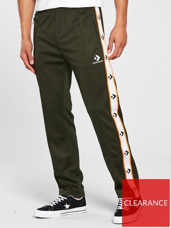 6fa760fcd74a7 Converse Star Chevron Track Pants - Khaki