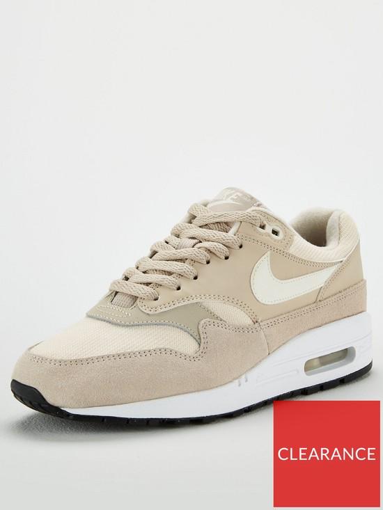 size 40 5b01d 4a410 Nike Air Max 1 - BeigeWhite