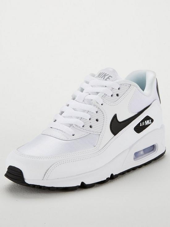 low priced e8b93 3b15b Nike Air Max 90 - White Black