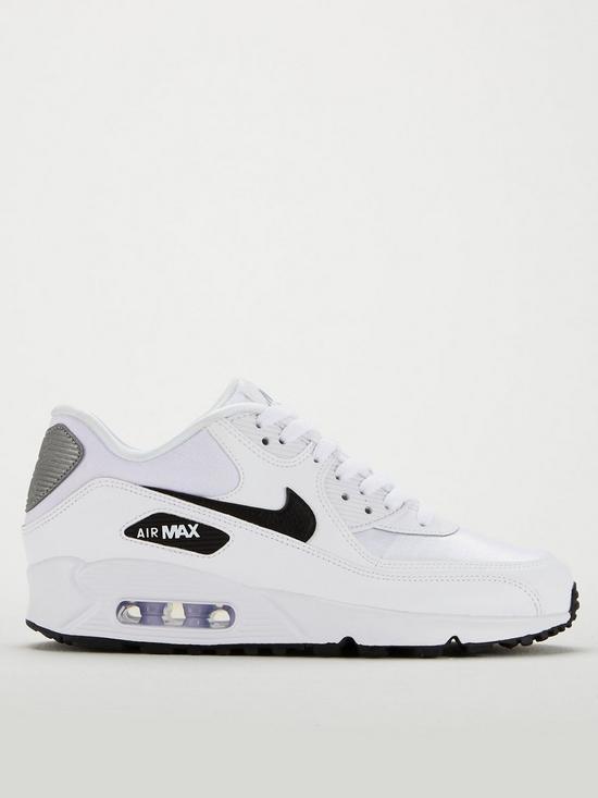 711a7f72d326a ... Nike Air Max 90 - White/Black. View larger