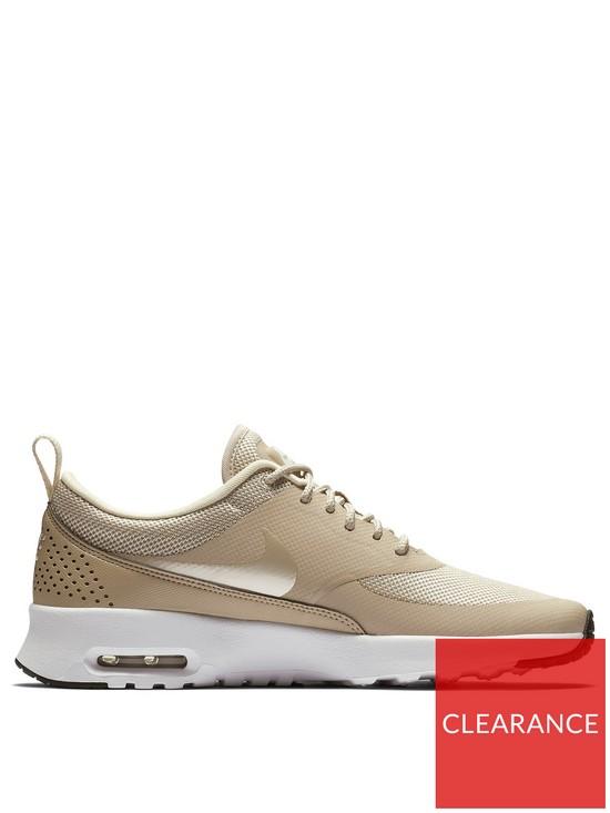 482b236bd740 Nike Air Max Thea - Beige White