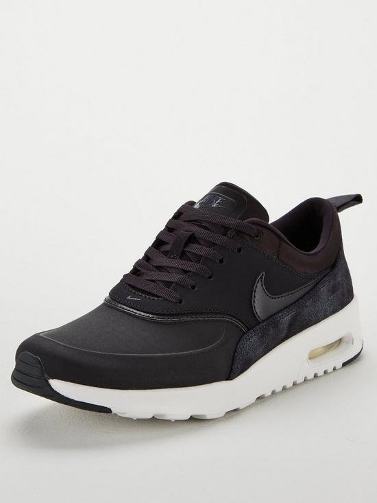 Cheap Nike Air Max Thea Premium Nike 2016 Style Cool GreySailMetallic PewterCool Grey mens womens trainers for sale black friday 2018 2017