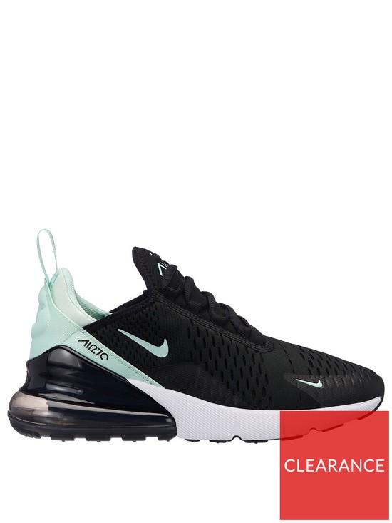 dd7c6a32f8bb Nike Air Max 270 - Black Turquoise