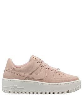 Nike Air Force 1 Sage - Pink/White