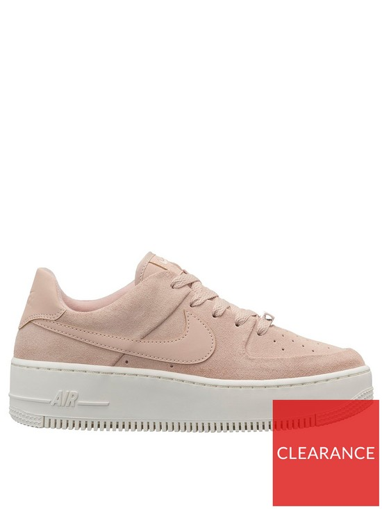 on sale 1ca8d bcafb Nike Air Force 1 Sage - Pink White