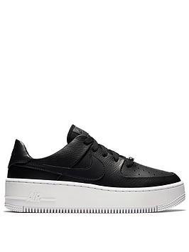 Nike Air Force 1 Sage - Black