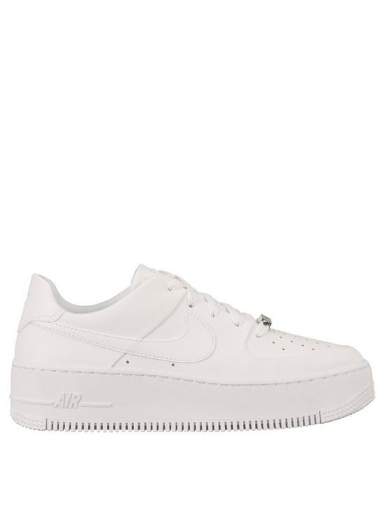 cc556fd15a6 Nike Air Force 1 Sage - White