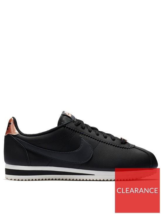 2a68ca561a0593 Nike Classic Cortez Leather - Black Bronze
