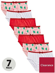 mini-v-by-very-girls-7-pack-flamingo-christmas-knickers