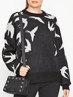 mcq-alexander-mcqueen-swallow-swarm-crew-neck-jumper-blackgrey