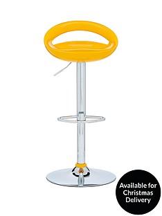avanti-bar-stool-yellow-and-chrome