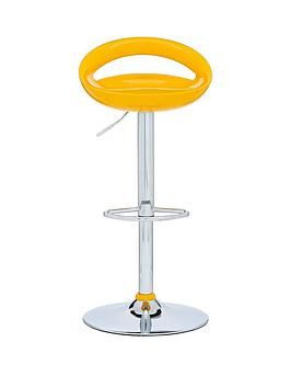 avanti-bar-stool-yellow-and-chrome