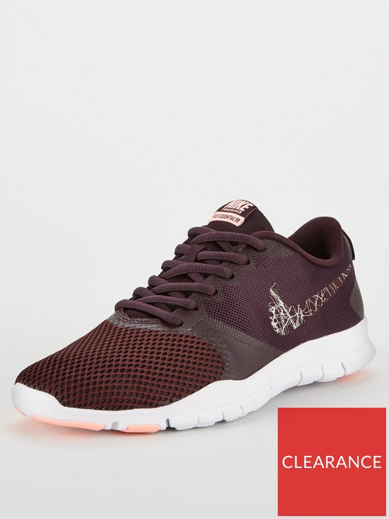 1e48a753ff0eef Nike Flex Essential TR - Burgundy White