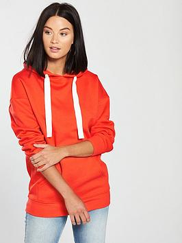 v-by-very-oversized-hoodie-orange