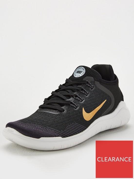 b96c1fd1eb16 Nike Free RN 2018 - Black Gold