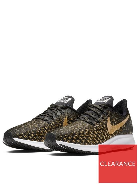 4e5c34f8984 Nike Air Zoom Pegasus 35 - Black Gold