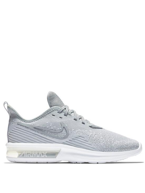 reputable site 921a0 93ec2 Nike Air Max Sequent 4 - Grey   very.co.uk