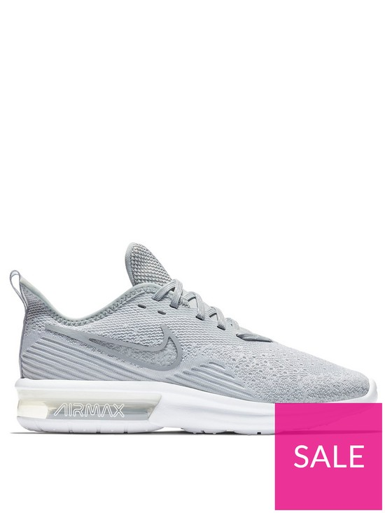 9d172af38f Nike Air Max Sequent 4 - Grey | very.co.uk
