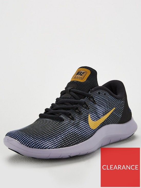 04445186cd00b0 Nike Flex RN 2018 - Black Gold