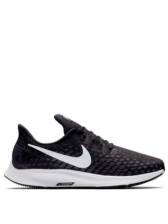 save off cc1d1 f3d07 Nike Air Zoom Pegasus 35 - Black White