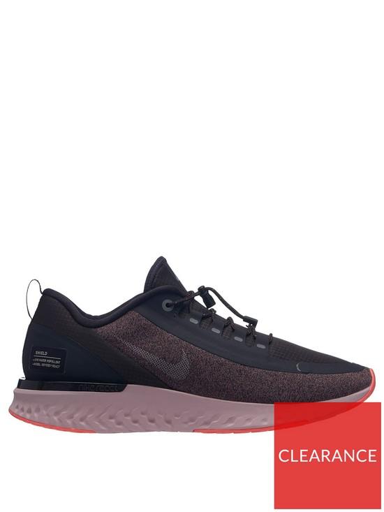 huge discount b11ff b0fb9 Nike Odyssey React Shield - Grey/Mauve | very.co.uk