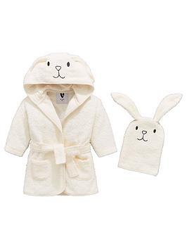 mini-v-by-very-baby-unisex-bunny-robe-amp-mitt-set