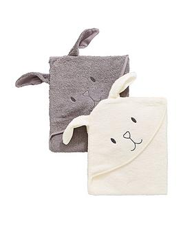 mini-v-by-very-baby-unisex-2-pack-bunny-premium-towels