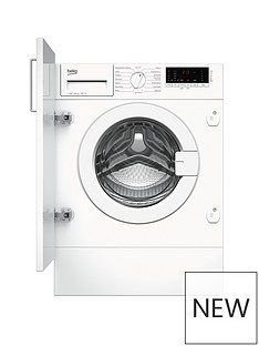 Beko WIY72545 7kg Load, 1200 Spin Built-in Washing Machine - White
