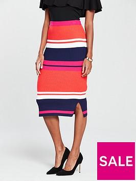 oasis-stripe-knitted-skirt-multinbsp