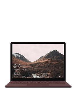 microsoft-surface-laptop-intelreg-coretrade-i5-processornbsp8gbnbspramnbsp256gbnbspssd-135-inch-full-hd-touchscreen-laptop-burgundy