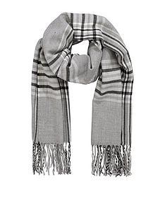 v-by-very-grey-shadow-check-scarf