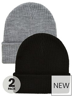 v-by-very-2pk-slough-beanies