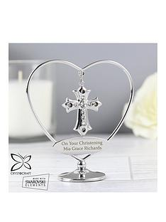crystocraft-personalised-crystocraft-cross-ornament