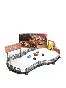 disney-cars-3-cars-3-smash-and-crash-derby-playset-inc-vehicle