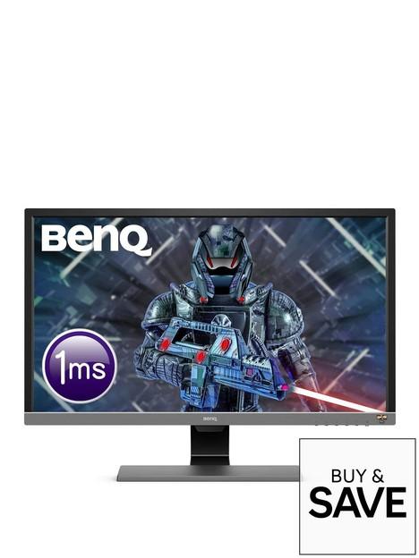 benq-el2870u-28-inch-uhd-4k-gaming-monitor--nbsp1ms-hdr-eye-care-led-free-sync-bi-plus-sensor-hdmi-display-port-speaker